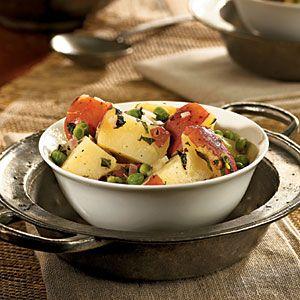 Potato Salad with Mint and Peas | MyRecipes.com #myplate #vegetable