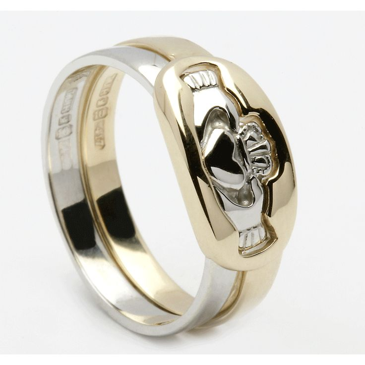 Claddagh Wedding Rings Claddagh Engagement Ring Meaning Claddagh Pinterest