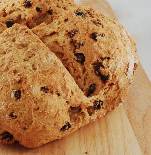 Soda Bread With Port-Soaked Raisins Recipes — Dishmaps