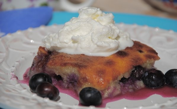 Blueberry Gratin   Cooking and Baking   Pinterest