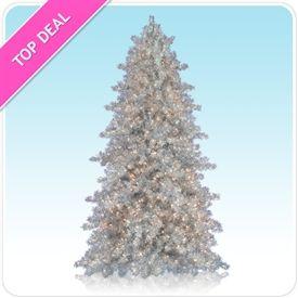 Tinkerbell silver christmas tree christmas pinterest