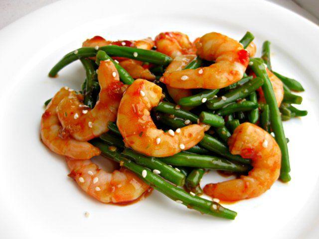 Shrimp in garlic sause