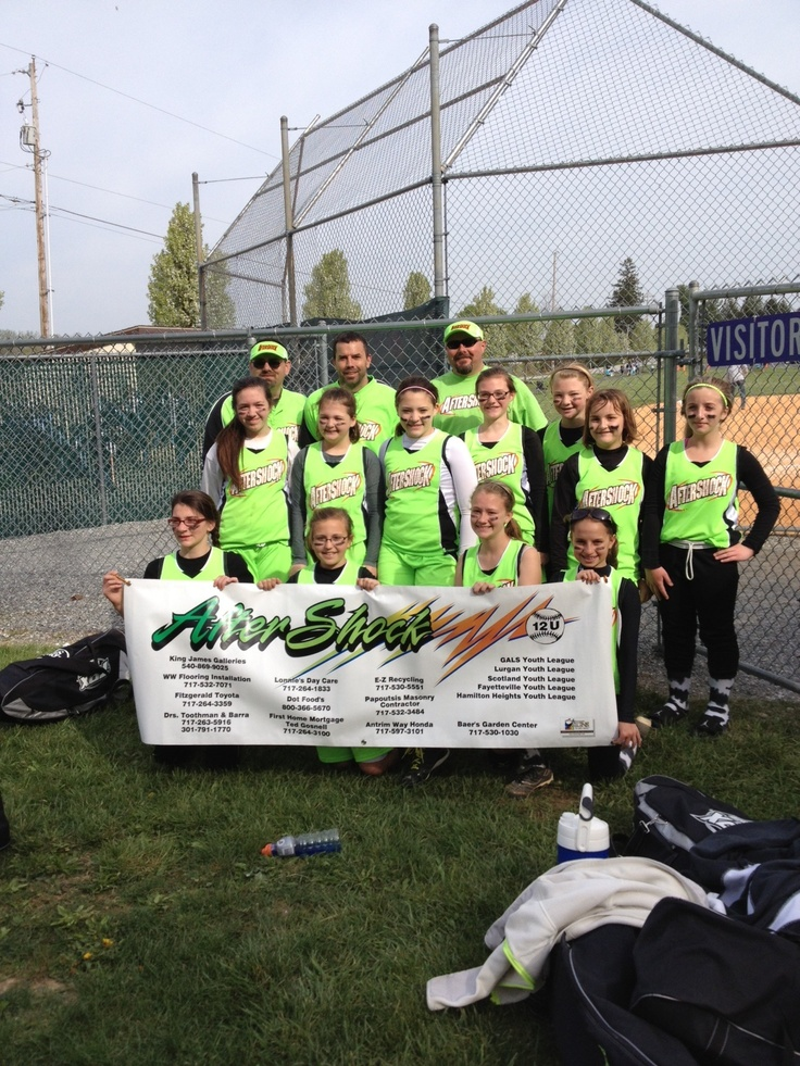 aftershock softball team