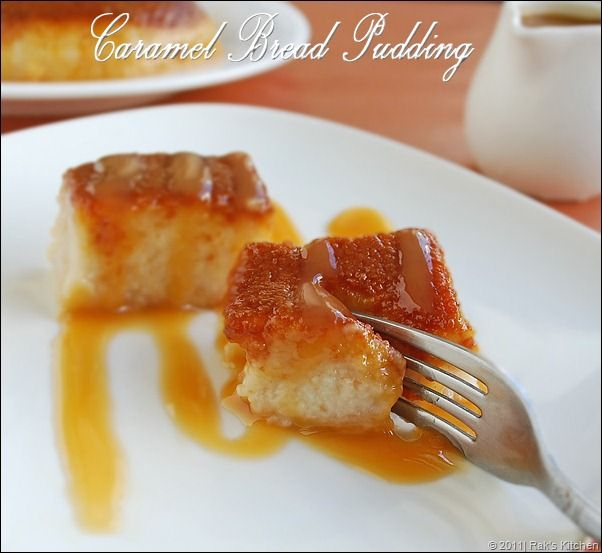CARAMEL BREAD PUDDING IN PRESSURE COOKER !! No butter no oil. Healthy ...