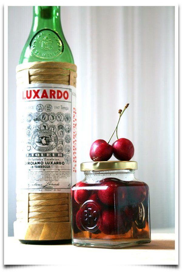 DIY Maraschino Cherries | Spirits! | Pinterest