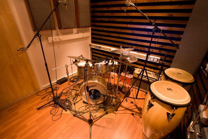 Small Room Recording Drums