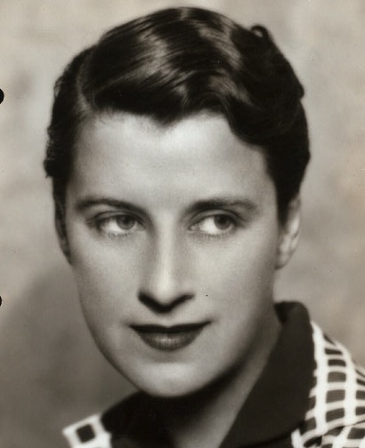Beatrice Lillie I894-1989 - here in the 1920s Eton Crop hairstyle