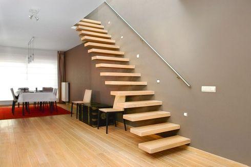 escalier flottant l ments architecturaux pinterest. Black Bedroom Furniture Sets. Home Design Ideas