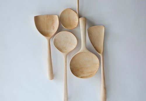Joshua Vogel - sculptural kitchen tools.