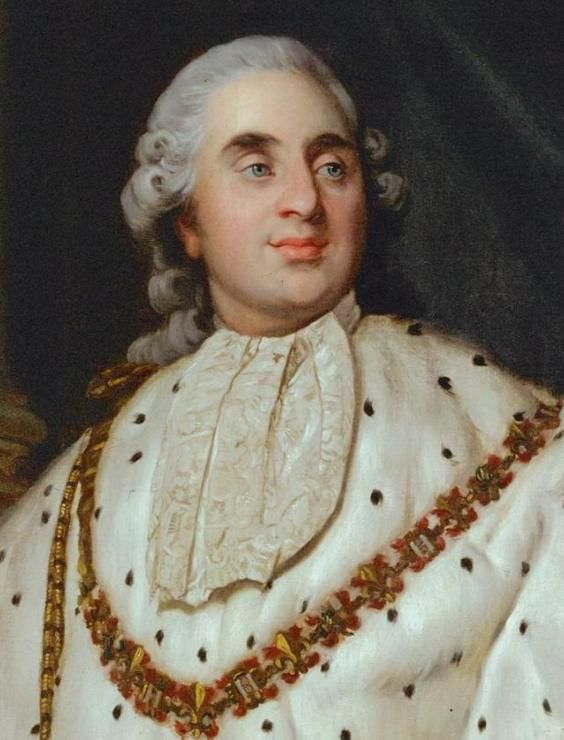 Joseph Siffred Duplessis, Louis XVI. Oil on canvas, 1777. Musée Carnavalet