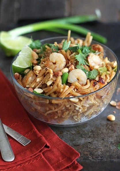 ... Shrimp Pad Thai - http://www.jellypin.com/easy-30-minute-shrimp-pad