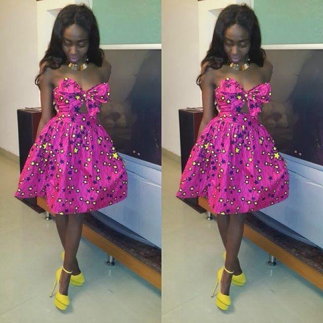 Trendy Nigeria Ankara Fashion Styles Creative Ladies Wear Pintere