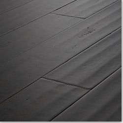 yanchi bamboo engineered handscraped collection distressed ebony sk