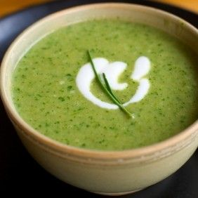 Spinach & Kale Soup w Meyer Lemon: Heat butter in soup pot w medium ...
