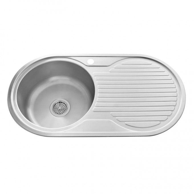 ... Round Drop-In Prep Sink with Drainboard - Kitchen Sinks - Kitchen