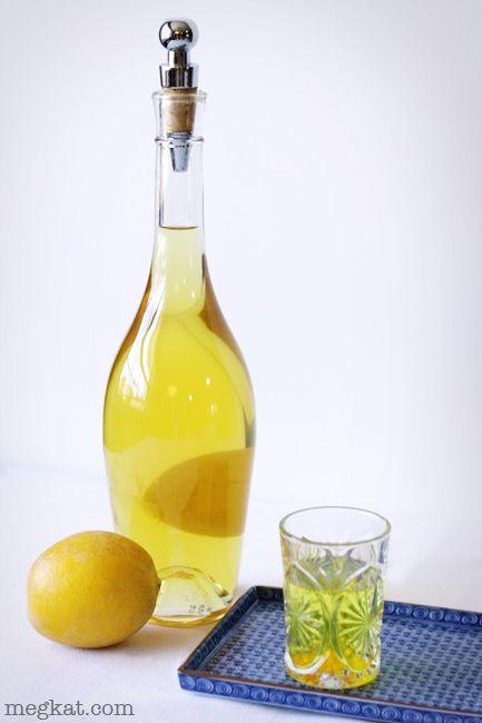 Homemade Limoncello   Drinks   Pinterest