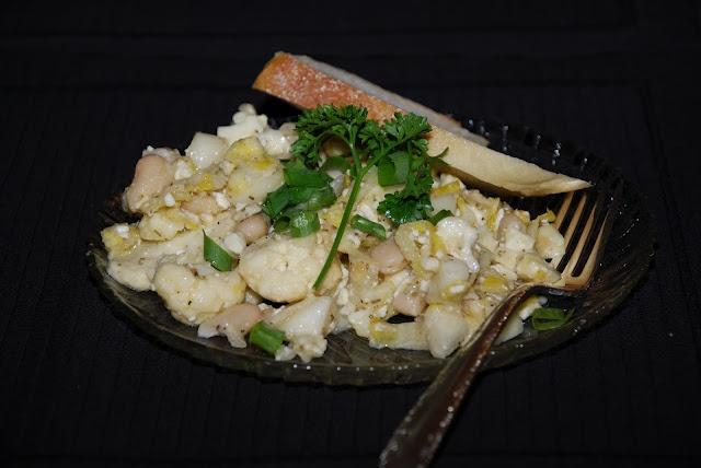 Cauliflower, beans salad | SALADS | Pinterest