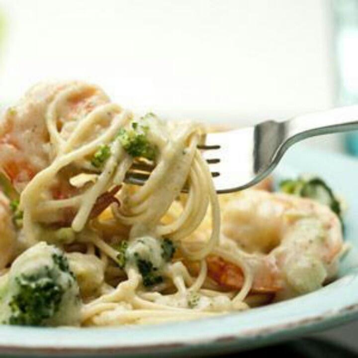Shrimp Alfredo | Shrimp & Scallops | Pinterest