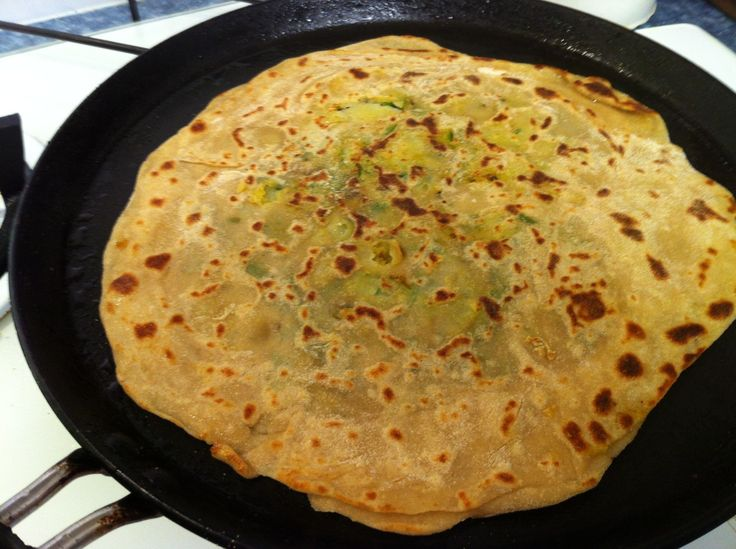 How to Cook a Healthy Potato Flat Bread - Aloo Paratha | Recipe