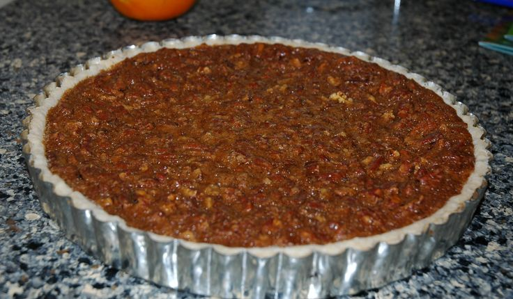 Chocolate dark rum pecan tart   Desserts   Pinterest