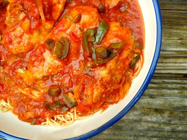 Slow Cooker Chicken cacciatore - taste the difference and help give to ...