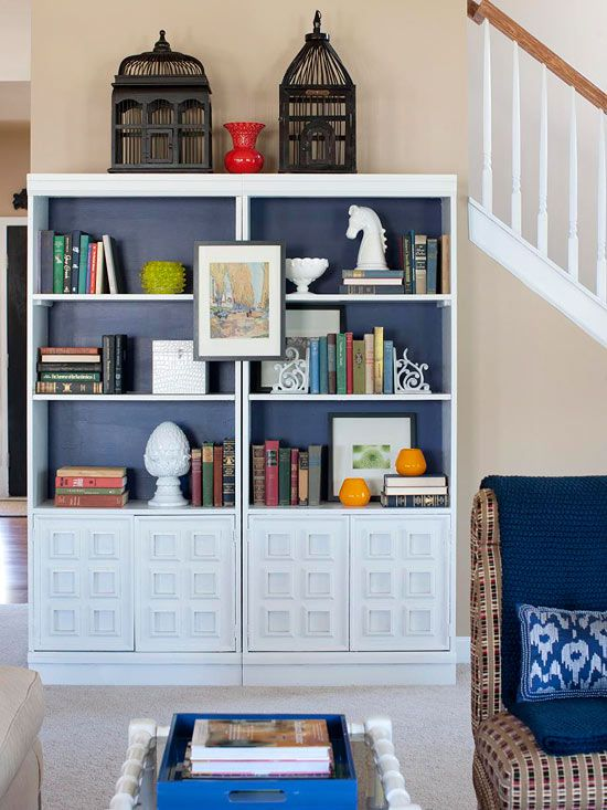 Save time by giving yourself the OK to skip the little stuff and instead focus on the big picture: http://www.bhg.com/homekeeping/house-cleaning/tips/speed-clean/?socsrc=bhgpin060214bluecabinet&page=5