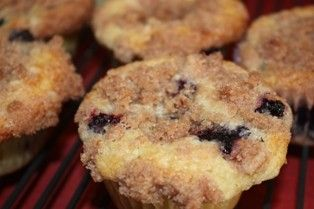 To die for blueberry muffin recipe