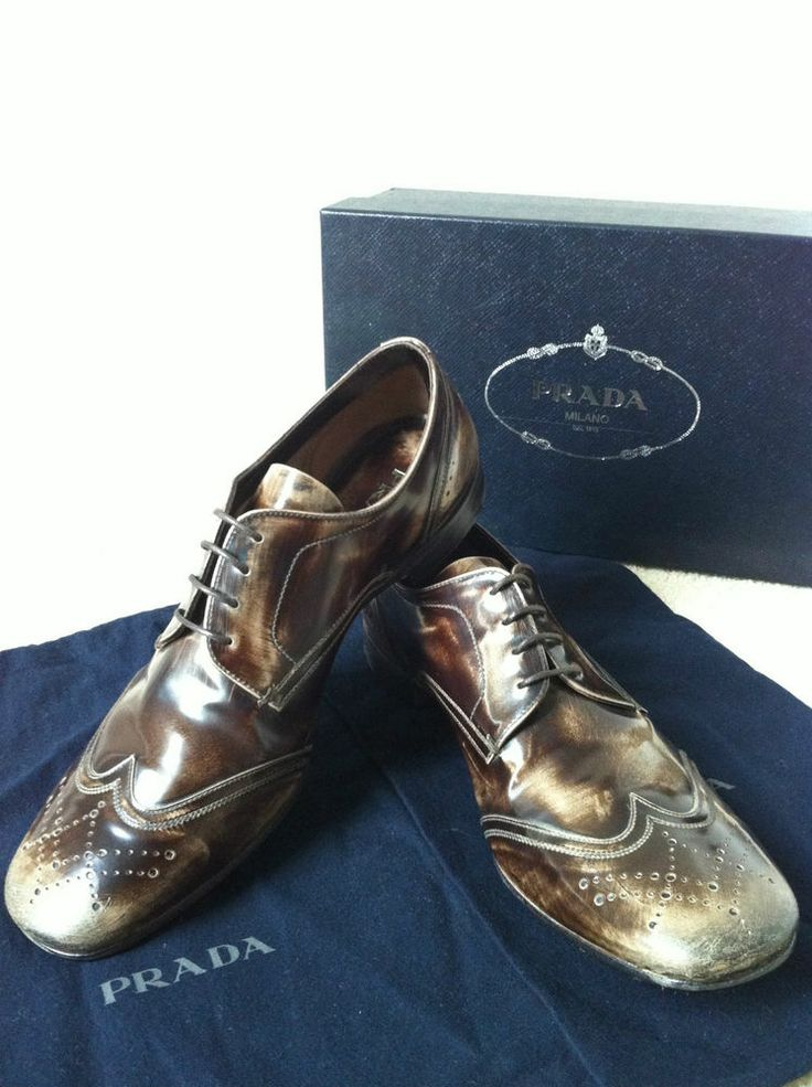 Prada Saffiano Dress Shoes