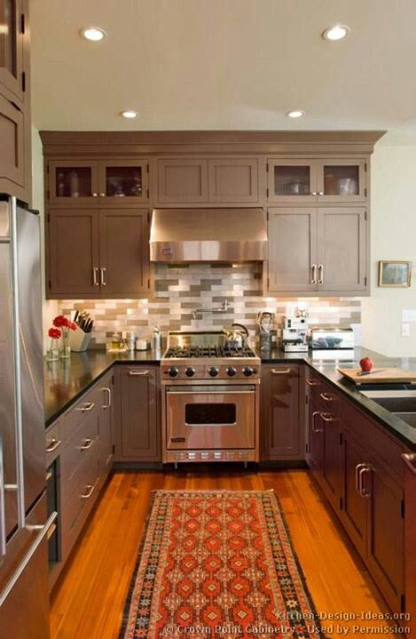 Narrow kitchen kitchen pinterest for Kitchen design narrow