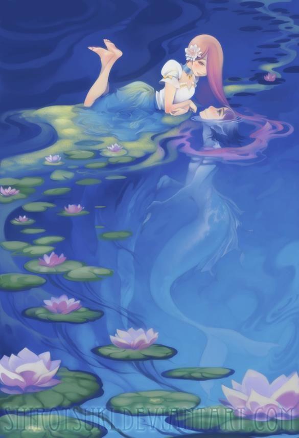 Mermaid And Merman Love | www.imgkid.com - The Image Kid ...