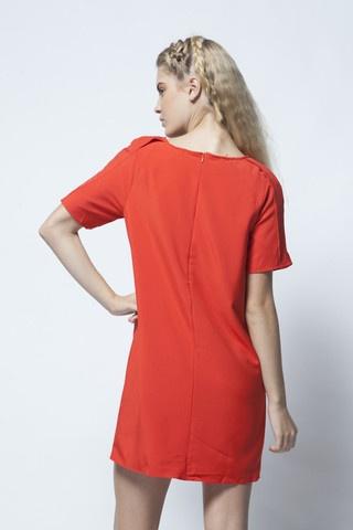 Scamp Dress - Red - Mika & Gala | Cupcake - Women's Fashion Online