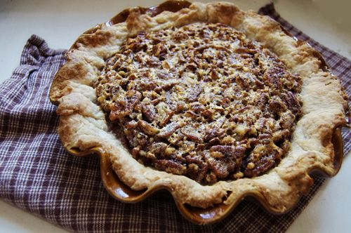 Bourbon Pecan Pie, from Biscuits & Such - I believe I tasted this pie ...