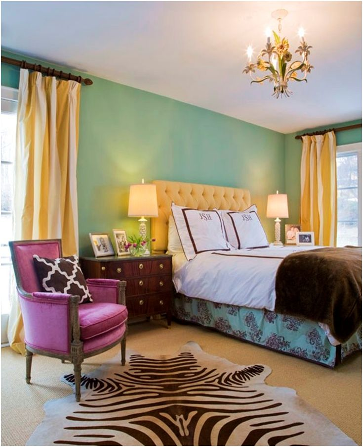 nice mix of color guest room re do pinterest