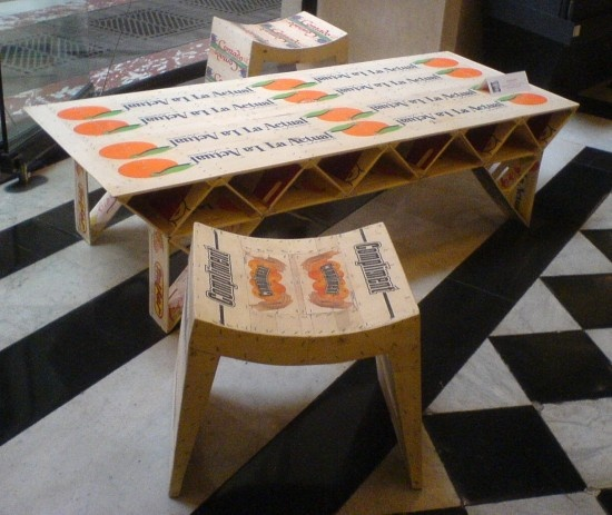 Wooden Crates Furniture : Wooden crates furniture