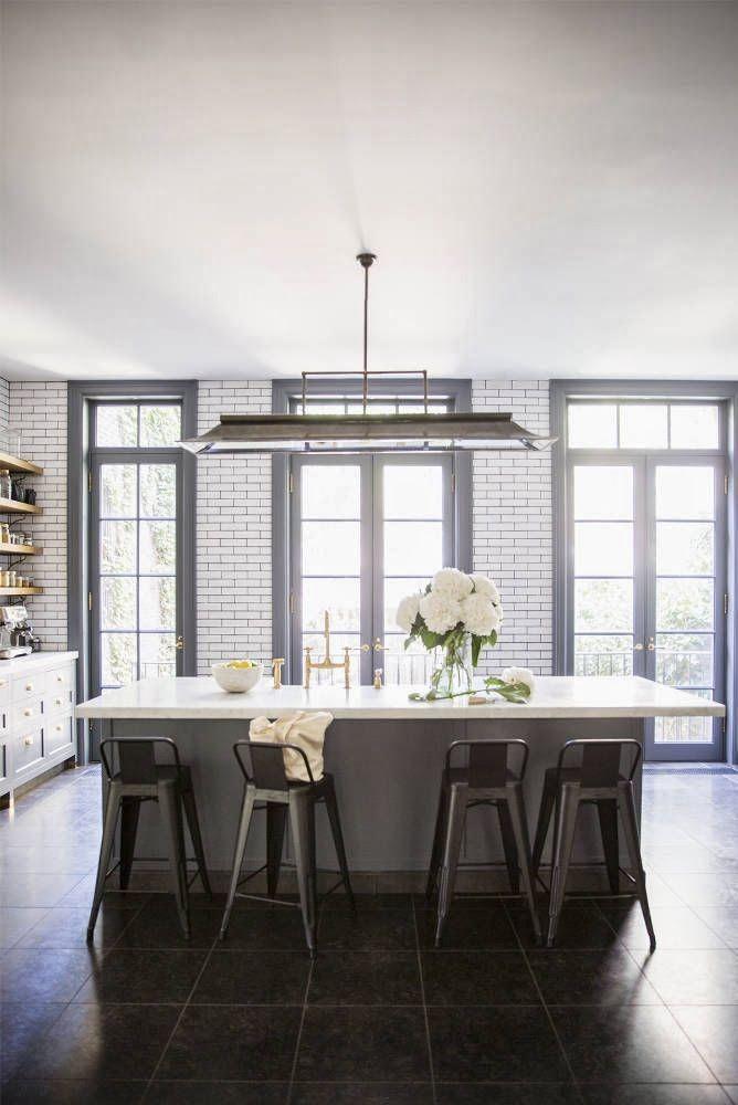 White vs Gray Grout  kitchens  Pinterest