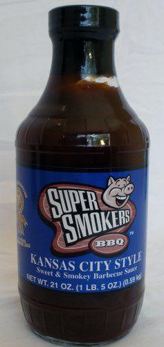 kansas city barbecue sauce   Super Smokers Kansas City Style BBQ Sauce ...