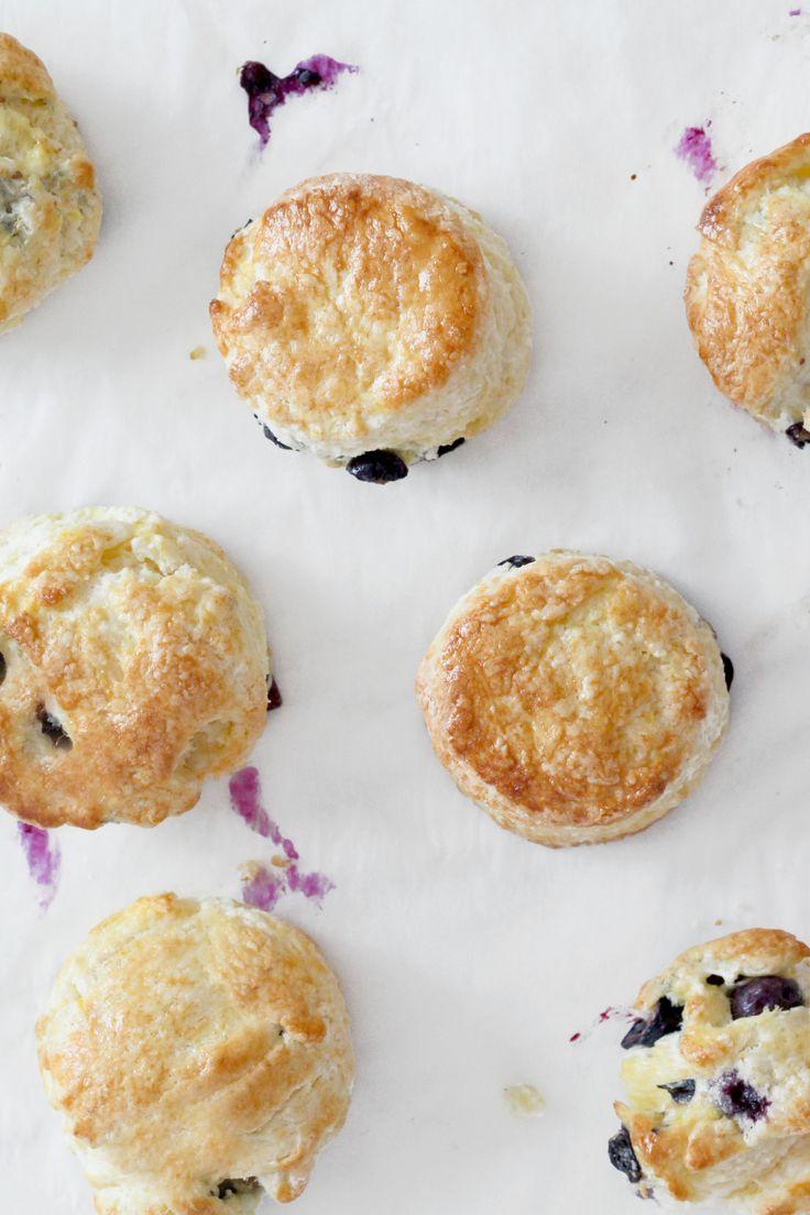 Meyer Lemon & Blueberry Cream Scones | natalie eng | patisserie ...