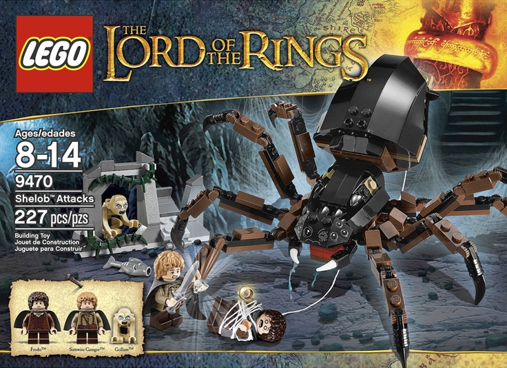 """""""Lord of the Rings"""" LEGO sets.  I didn't know they made these."""