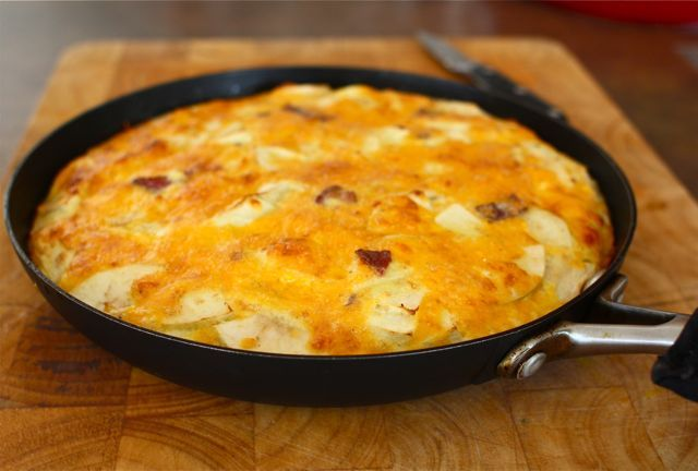ABC frittata (Apple, Bacon, and Cheddar) plus info on cooking with ...