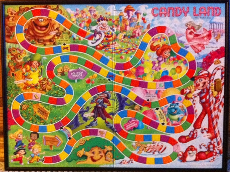 online candy land board games