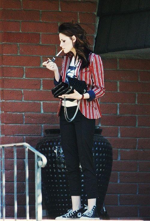 Kristen Stewart Street Style Fashion Pinterest