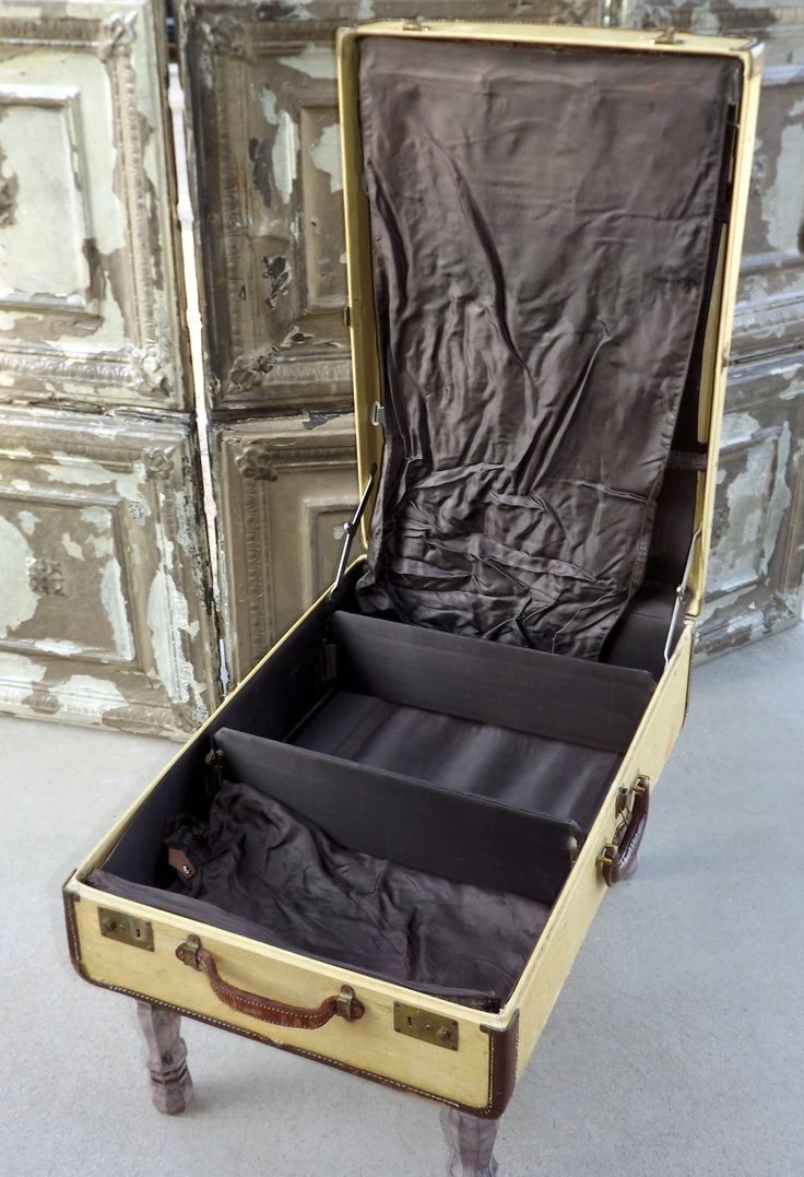 Vintage Suitcase Table Custom Order by QuirksByAnnie on Etsy, $125.00