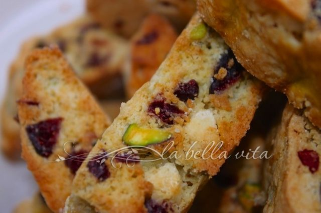 Pistachio Cranberry Biscotti | Desserts | Pinterest