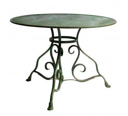 Table De Jardin : Table de jardin Swann  Vintage Outdoor-Indoor Furniture  Pinterest