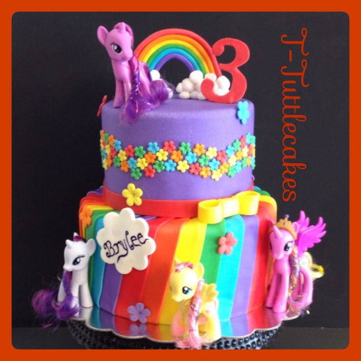 My Little Pony Birthday Cake Supplies Image Inspiration of Cake