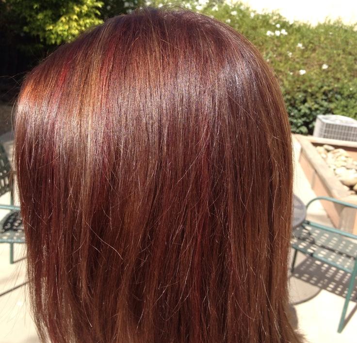 FallAutumn Hair Color  My Style  Pinterest
