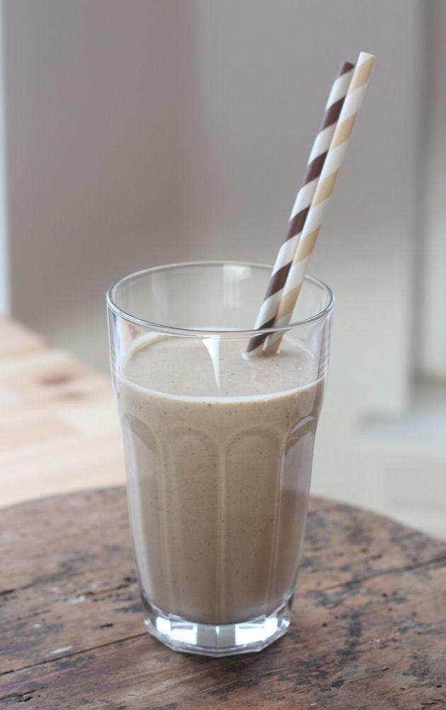 banana-bread-protein-shake | Drinks | Pinterest