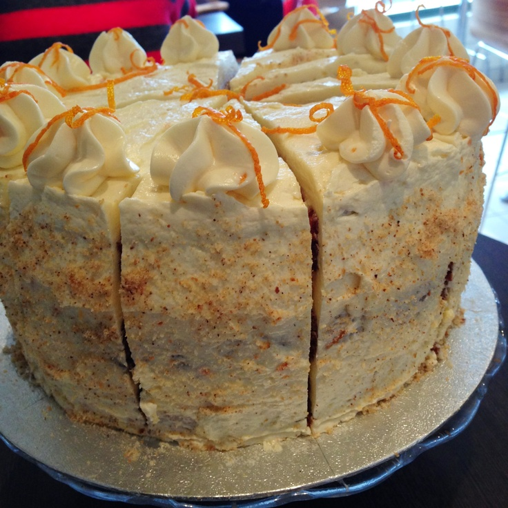 Orange Layer Cake... | Food | Pinterest