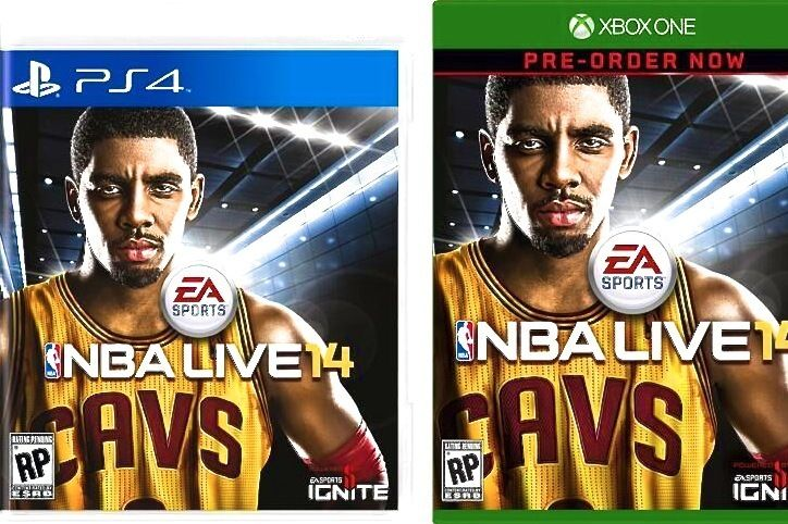 Kyrie Nabs 'NBA Live 14' Cover- Seriously tho, who's gonna cop this ...