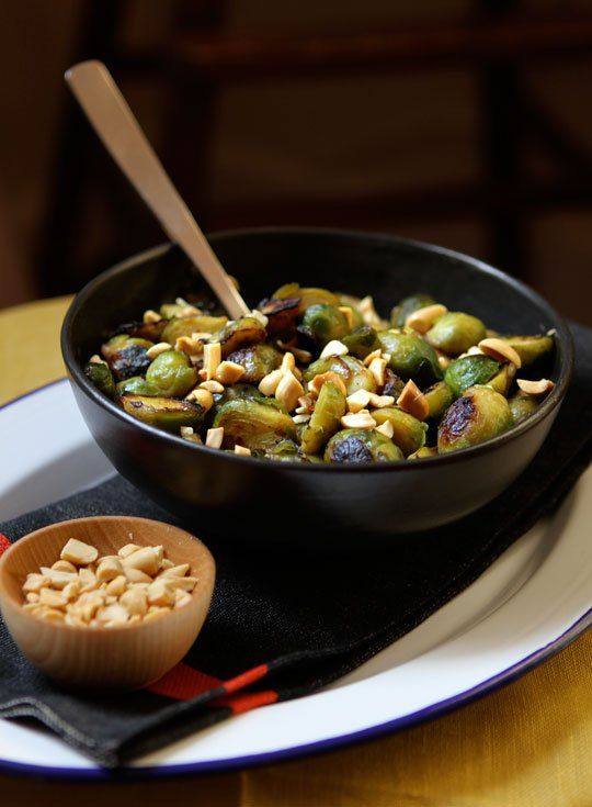 Recipe: Thai-Style Brussels Sprouts Nice alternative to pecan ...